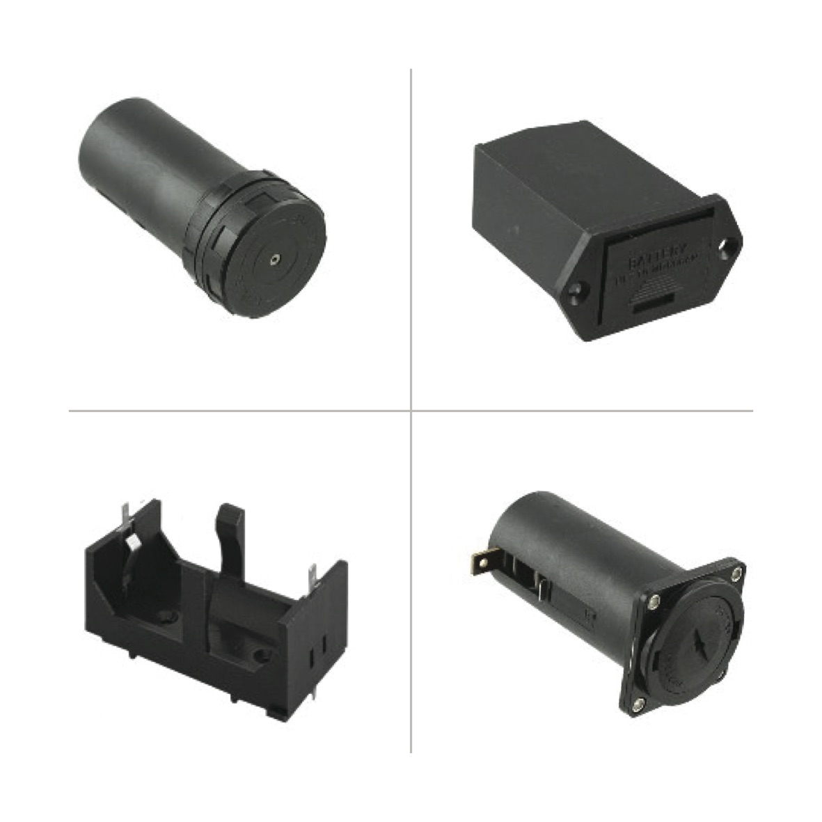 Bulgin Battery Holders