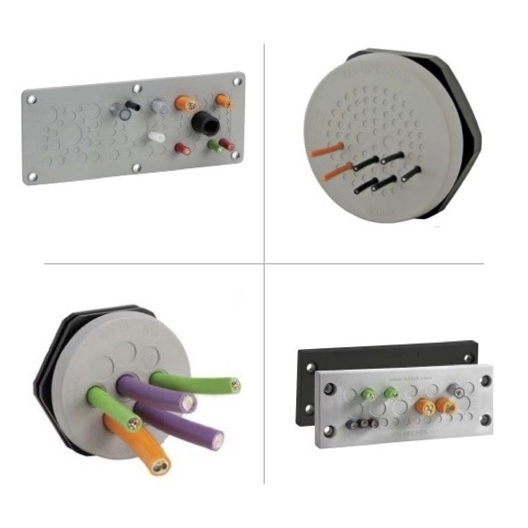 Cable Entry Plates for Cables without Connectors