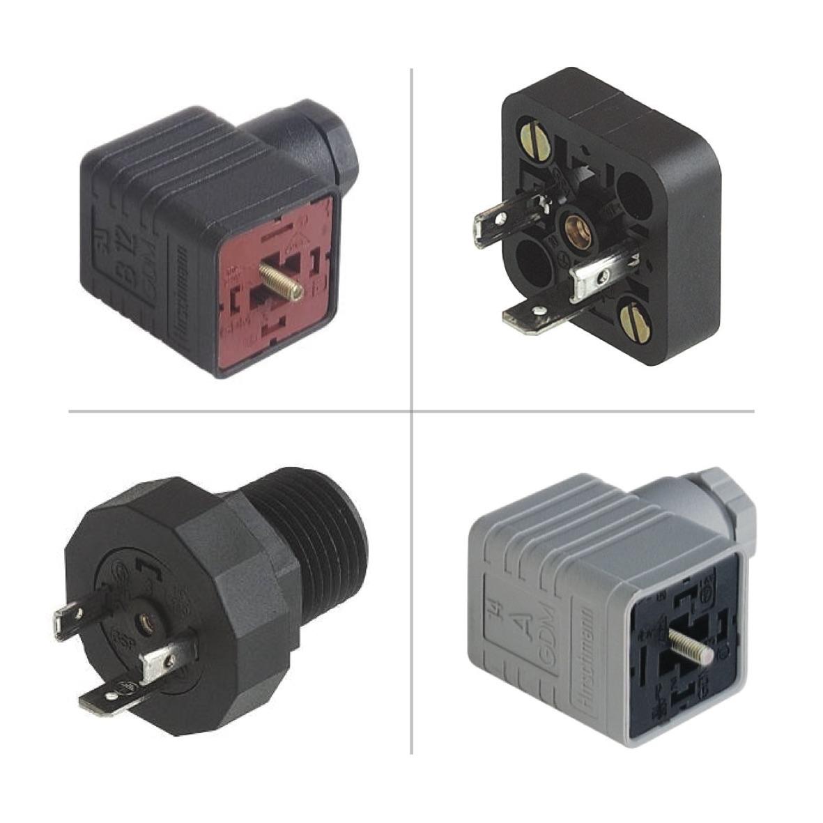 Hirschmann GDM Valve Connectors (DIN 43650)