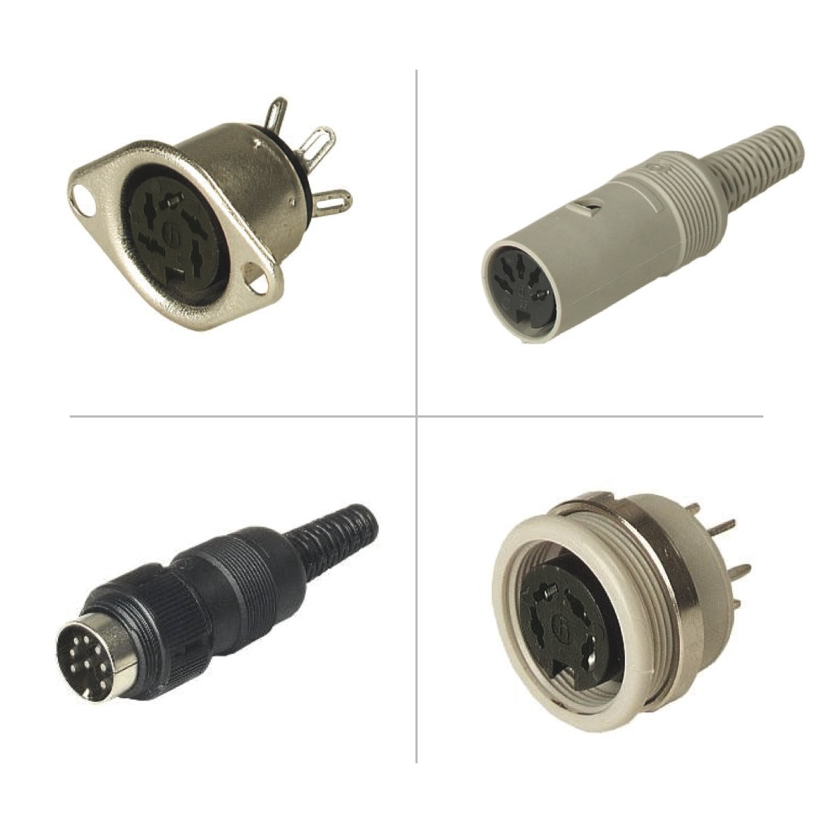 Hirschmann DIN EN 60 130-09 (MAK/MAS) Circular Connectors