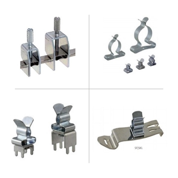 EMC Shield Clamps and Brackets