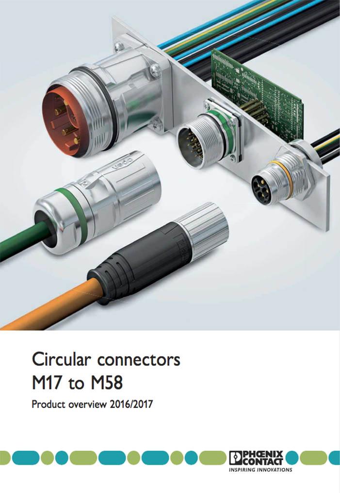 Circular connectors M17-M58