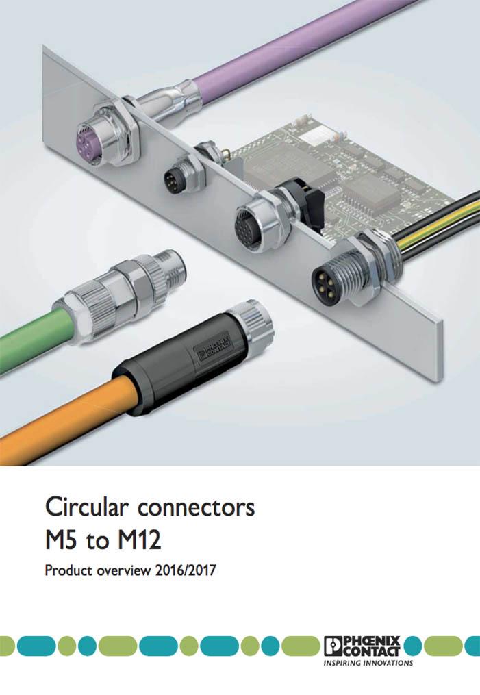 Circular connectors M5-M12