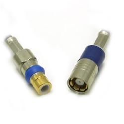 Type 43 or SMZ coaxial connector