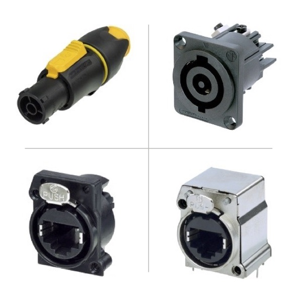NEUTRIK Lighting Connectors