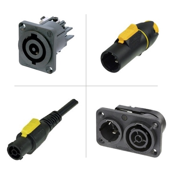 NEUTRIK Power Connectors