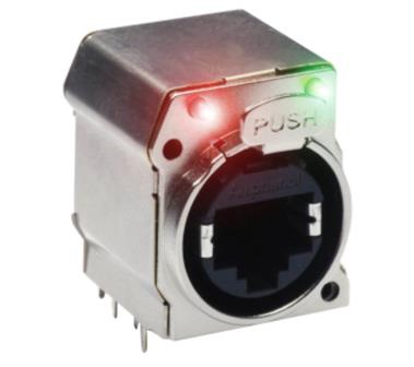 Amphenol XLRnet CAT6A Connector - RJX8FB6HRGEB