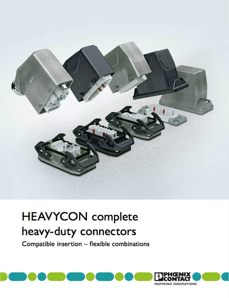 Phoenix Contact HEAVYCON heavy duty connectors