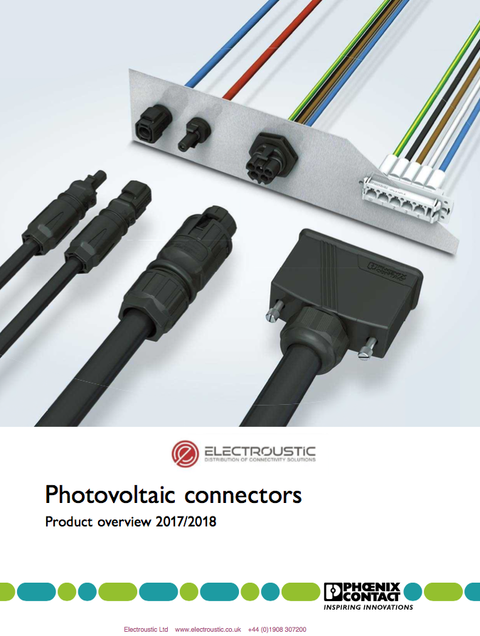 Phoenix Contact Photovoltaic Connectors